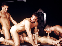 The sex-driven quartet works it's adores an erotic frenzy!!
