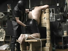 Chubby cock-sucker lycan is desperate for a hot jizz mouthful in 1 movie scene