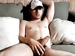 Straight Boy Attempts to Eat His Own Ball cream - Lil B