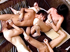 Foot Loving Fourgy Guys - Asher, Ryan, Brenden, Krist