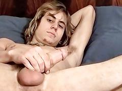 Country Dude sub Knob Masturbating - Carl Alexander