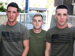 Ryan who is one of our Master veterans has in no way been with twins let alone big dick twins