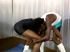 Harsh black man-lovers activity enthusiastic anal