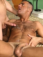 Studly cunt instigates orally fixating a big intense cock because he admires the savor