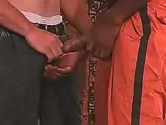 Tight ebony apple bottoms accepts plugged severe