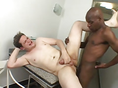Ebony man-lover drills inflexible stallions arsehole