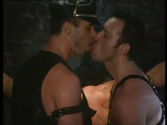 Mature gays have fun in infatuation groupie