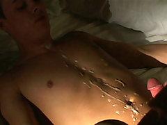 college man-lover attains apple bottoms screwed and tummy cummed
